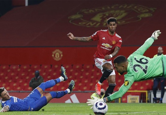 Manchester United Menang Susah Payah atas Brighton