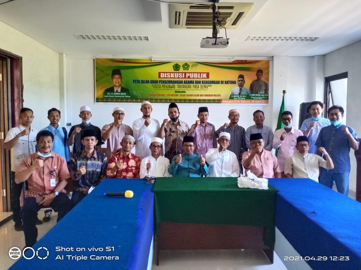 Ormas Islam se- Kabupaten Natuna Musyawarah Bahas Perkembangan Islam