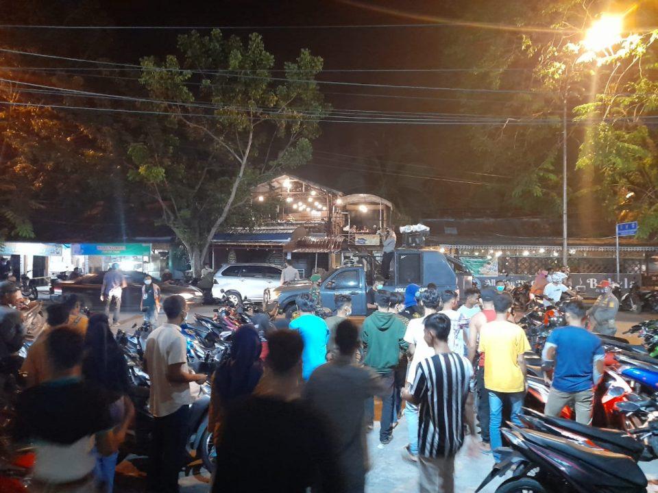 Satgas Covid-19 Kampar Sosialisasikan Prokes di Malam Takbiran