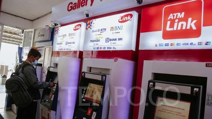 Sah, 4 Bank BUMN Batalkan Biaya Transaksi di ATM Link