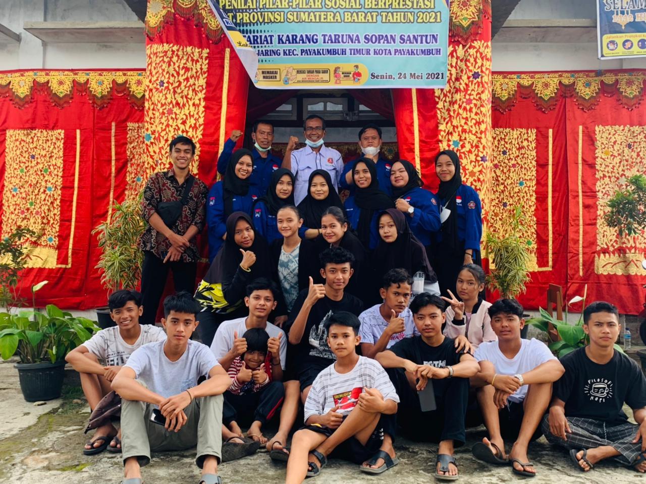 Karang Taruna Sopan Santun Baja Juara di Tingkat Provinsi Sumbar, Melaju ke Tingkat Nasional