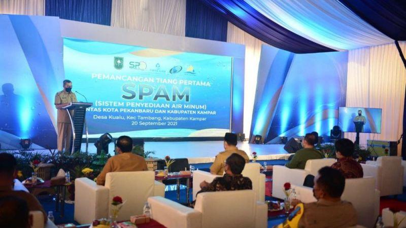 Gubri Ajak Masyarakat Sukseskan Program Pembangunan SPAM Pekanbaru-Kampar