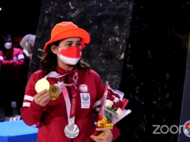 Menpora Bangga, Leani Ratri Kembali ke Tanah Air dari Tim Paralimpiade Tokyo Ukir Prestasi