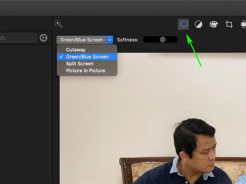 Setting Green Screen Overlay