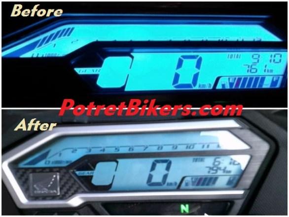 Speedometer Honda CBR