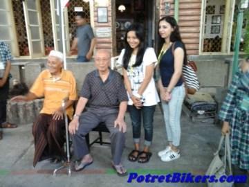 saksi hidup Kemerdekaan RI, Mantan Ajudan Bung Karno (duduk sebelah kanan)