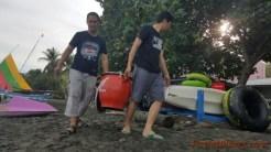 Perwakilan dari MPM, Honda Customer Center (HC3) Division Head M. Bondan Priyoadi Turut Turun Tangan juga :D