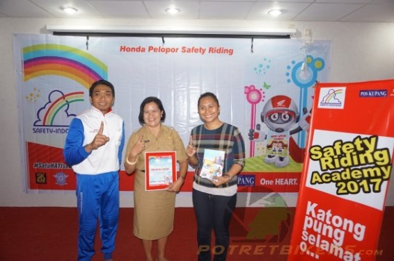 Honda Safety Riding Academy di Kupang (1)
