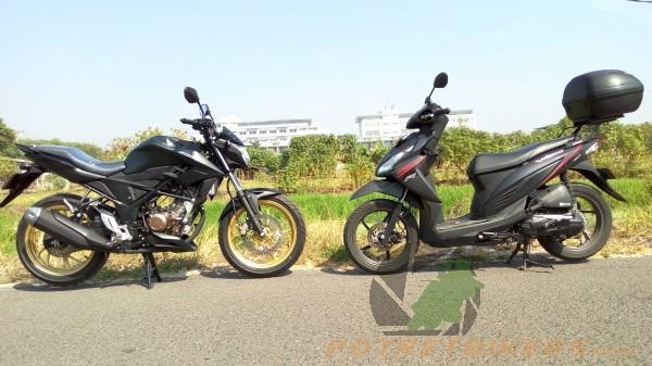 All New Honda CB150R Stallion Black (6)