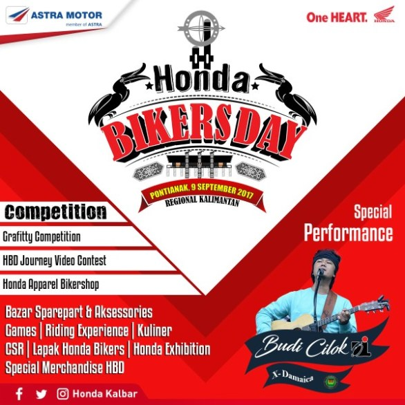 Honda Bikers day Pontianak -2017