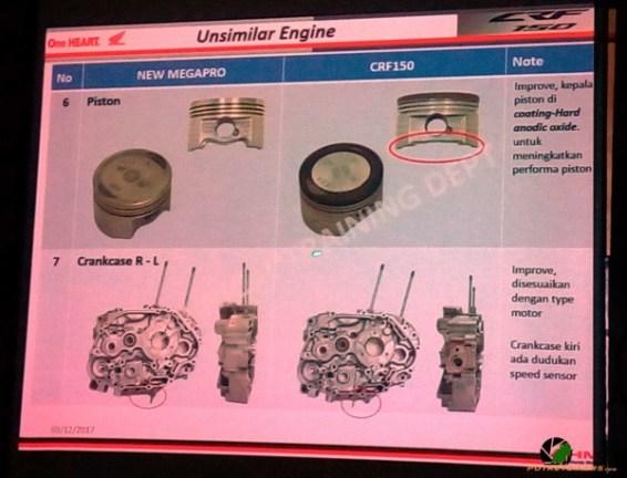 Perbedaan Piston dan Crankcase