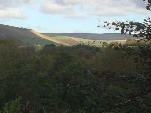 View from 2nd bedroom at Pots and Pans Holiday Cottage, Uppermill, Saddleworth