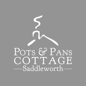logo for Pots and Pans Holiday Cottage, Uppermill, Saddleworth
