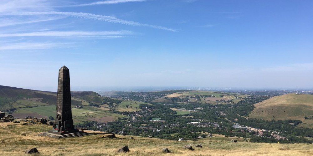 Pots and Pans overlooking Uppermill