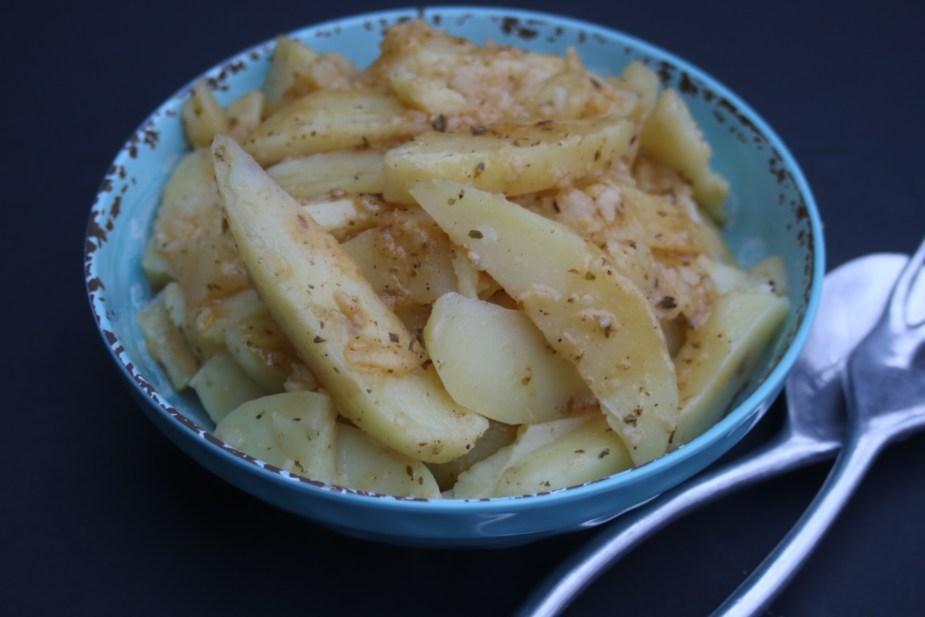 Instant pot greek potatoes potsandplanes.com