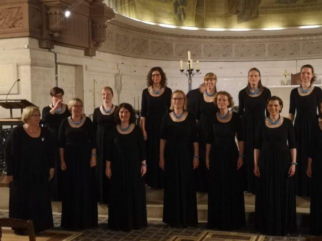 Die Potsdamer Vokalistinnen in der Eglise Sainte-Jeanne d'Arc