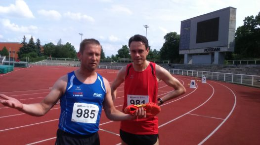 Dirk holt Bronze über 1500m.