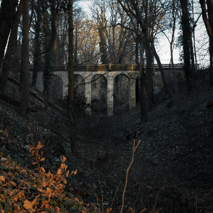 Ein Viadukt in Potsdam? Nein, die Teufelsgrabenbrücke