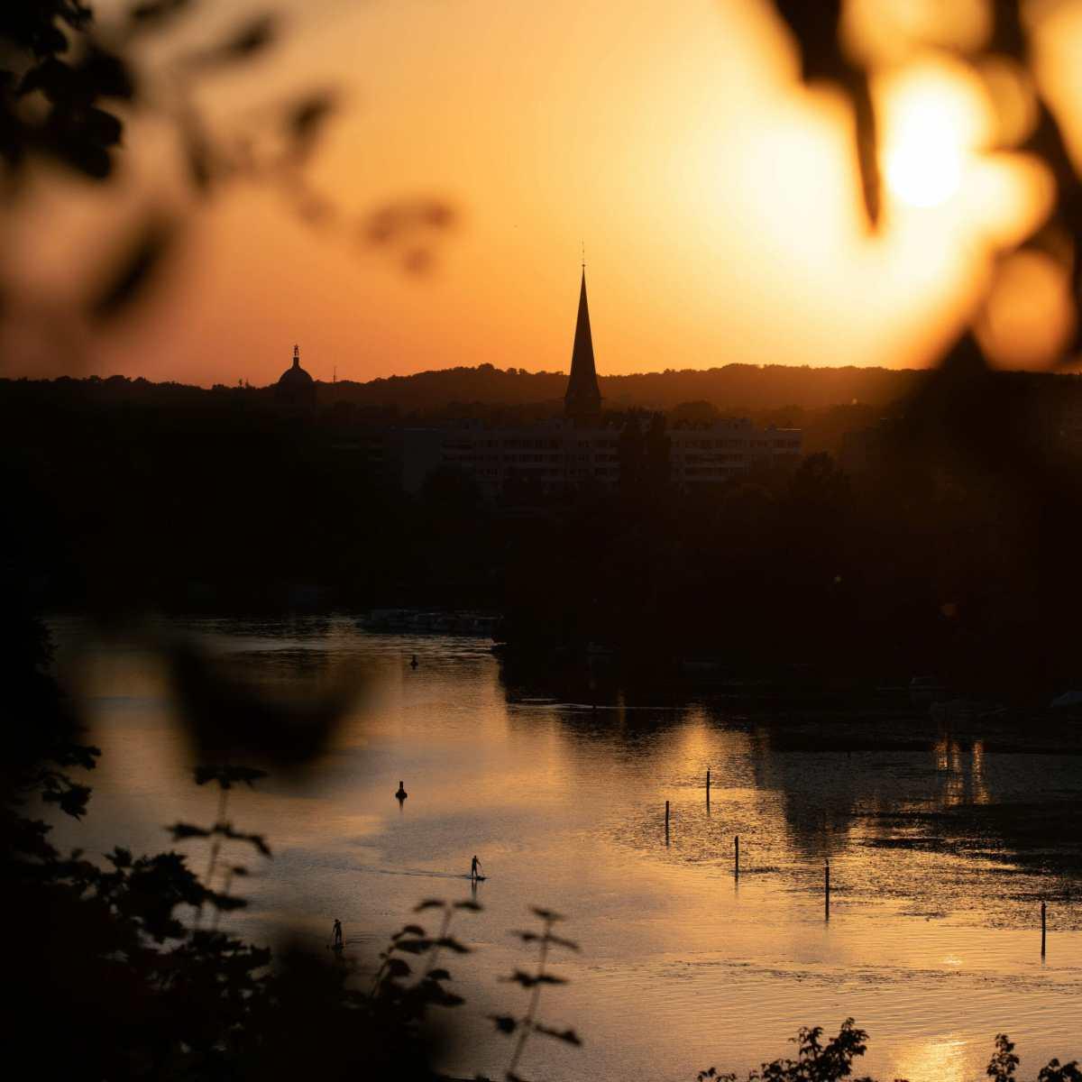 Der Blick vom Brauhausberg auf Potsdam