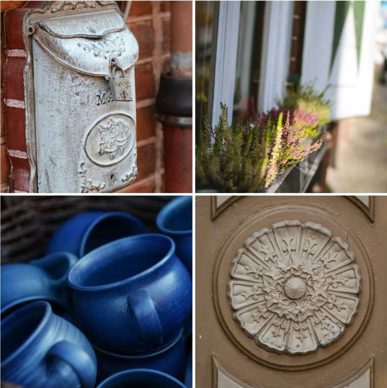 Collage der Details aus dem Holländer Viertel