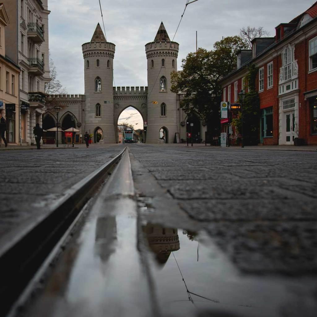 Blick auf das Nauener Tor