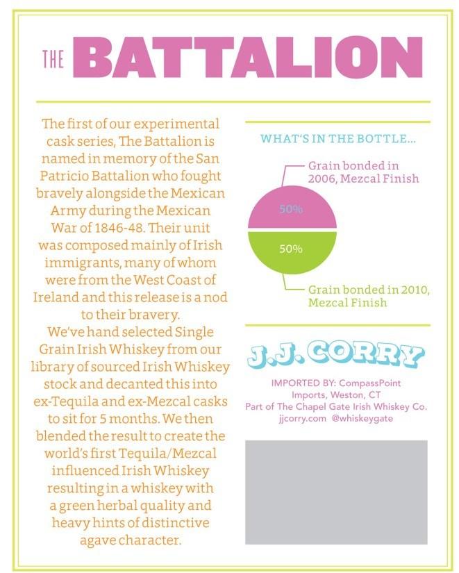 Battalion 2 back label