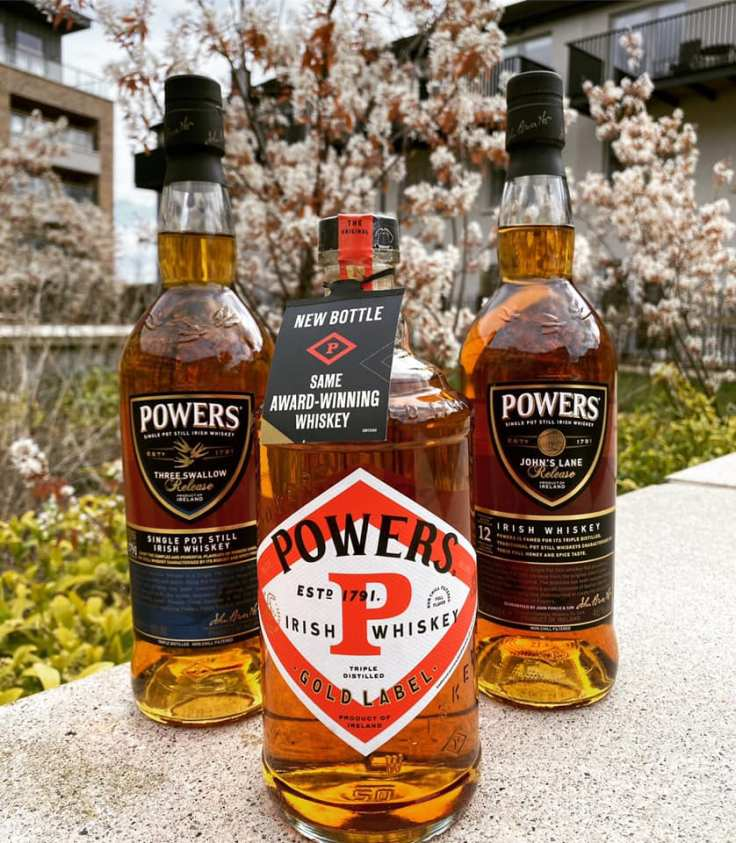 powers whiskey potstilled
