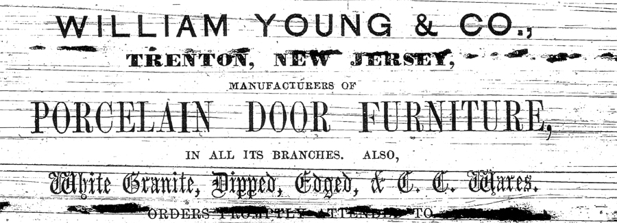 William Young & Co. Advertisement