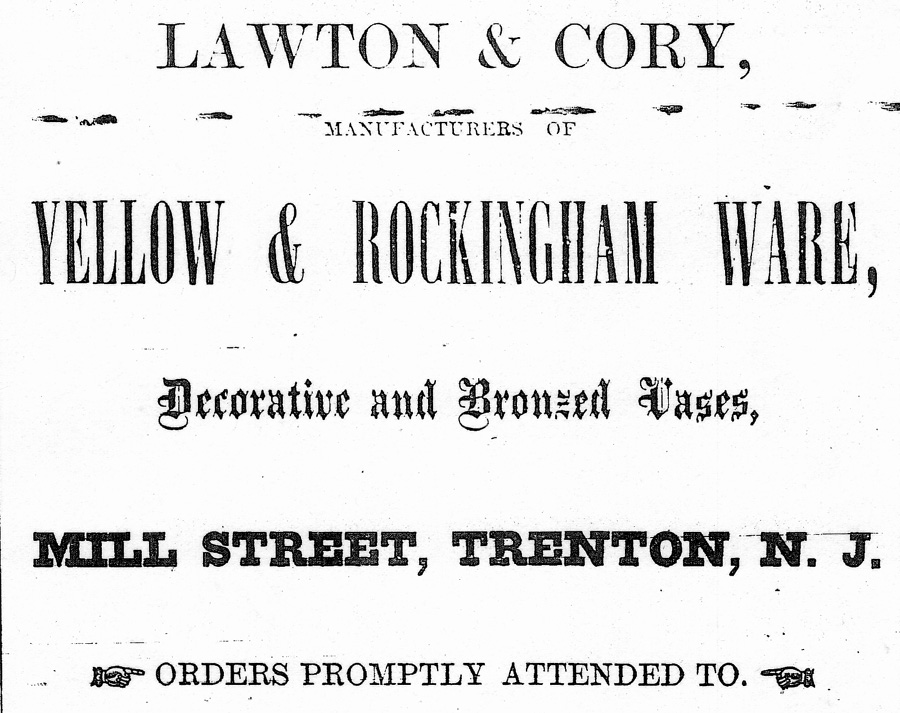 Lawton & Cory Advertisement