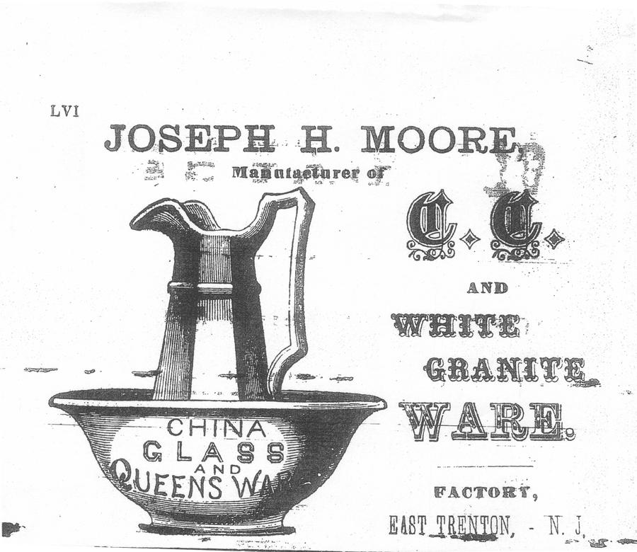 Joseph H. Moore Advertisement