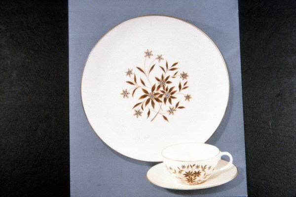 Lenox China, Starlight, designed 1950
