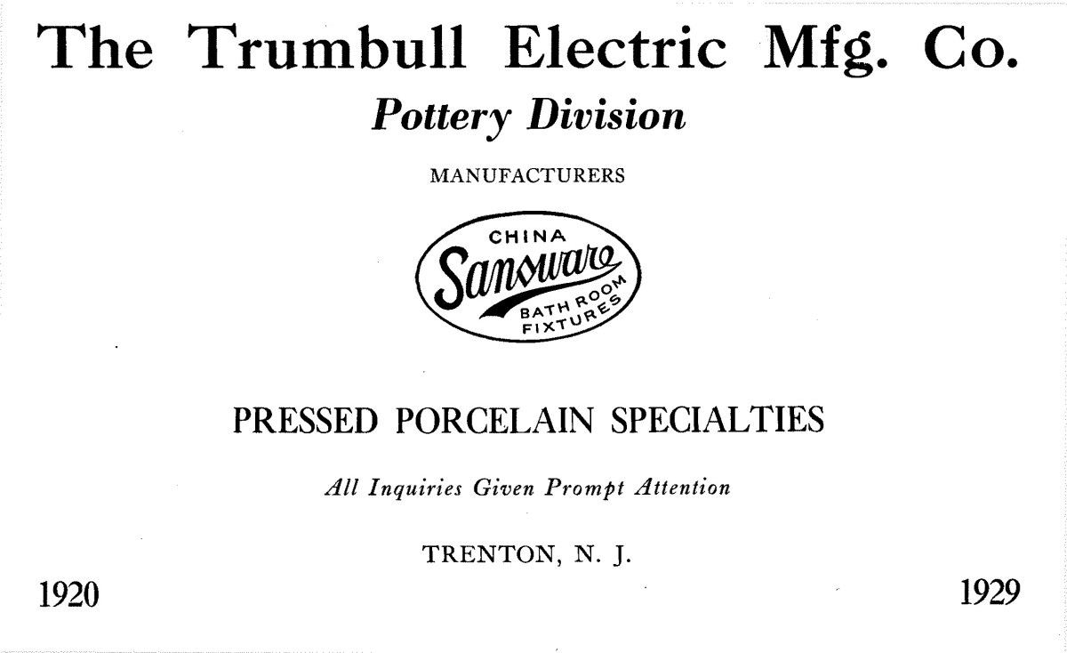Trumbull Electric Manufacturing Company Advertisement