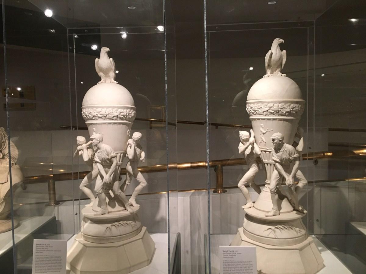 Isaac Broome's Baseball Vases