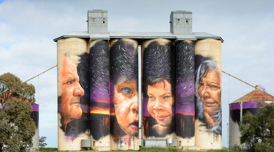 6 Day Silo Art & Benalla Roses