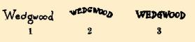 Wedgwood China Marks