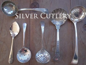 Antique Silver Cutrely