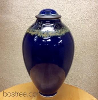Porcelain Lidded Vessel