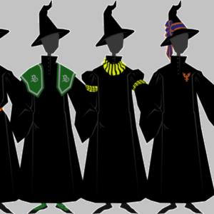 Hábity a uniformy podle knih, část první