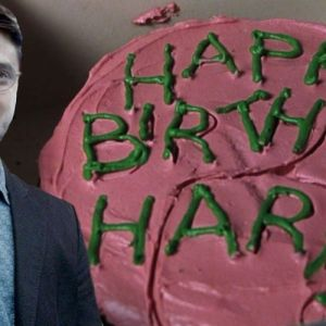 Harry slaví kulatiny