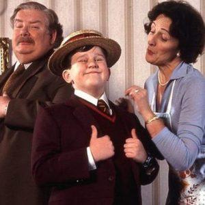 Dursleyovi. Taková normální rodinka v britském vydání