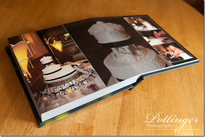 Courtney and Craigs Coffee Table Album  Pottinger Photography