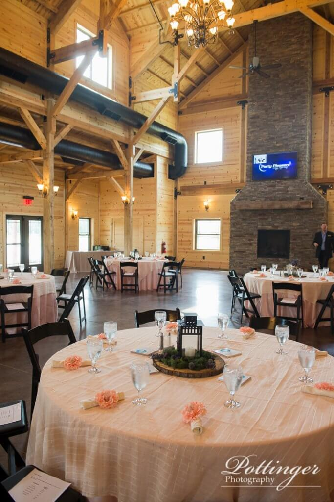 Rolling Meadows Ranch a Lebanon Ohio Wedding Barn  Pottinger Photography