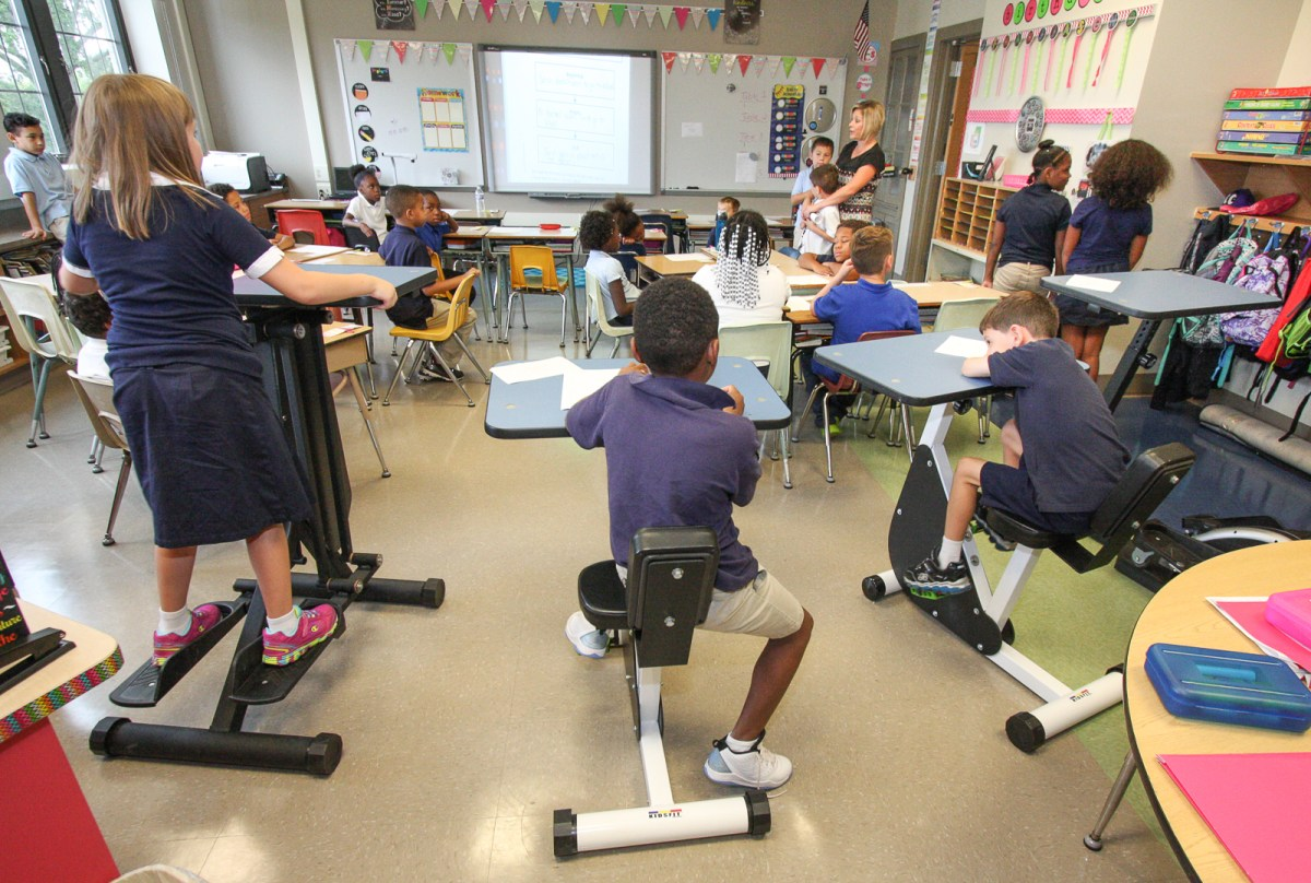 Pottstown Students Exercise Bodies And Brains