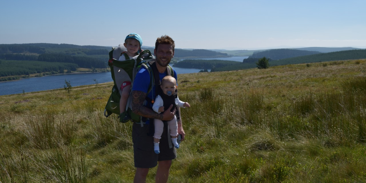 Hiking With Kids – Alwen Reservoir, North Wales