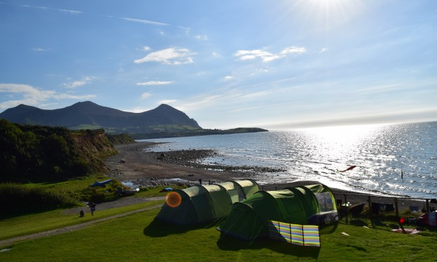 Family Camping At Stunningly Beautiful Aberafon