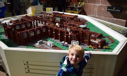 Lego Exhibition at Chester Cathedral