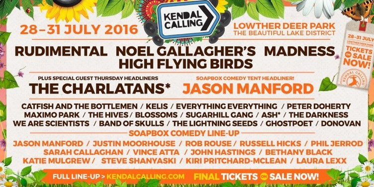 Thanks to Kendal Calling for their permission to use this image.