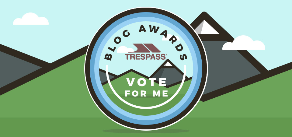We've made the Final of the Trespass Outdoor Blog Awards and Now Need Your Help!