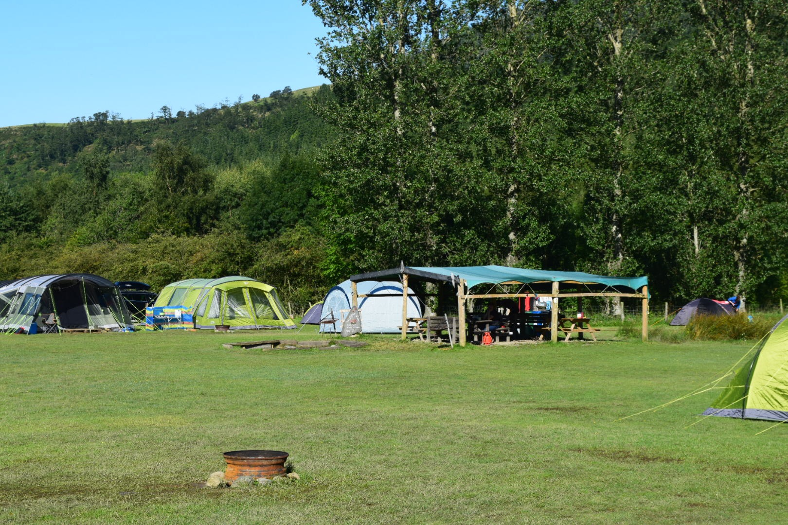 Kestrel lodge campsite