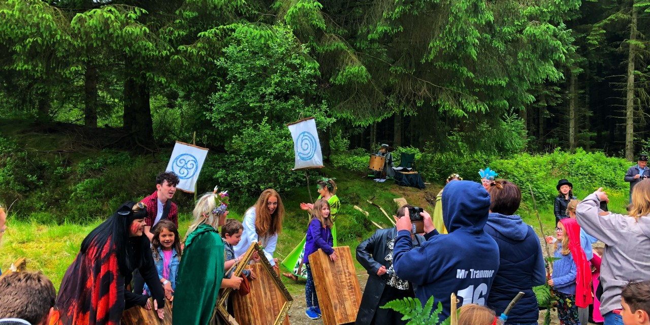 MythFest 2018 – Welsh Mythology, Theatre and Forest School Crafts